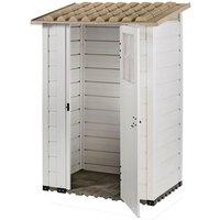 Shire - Tuscany Evo 4 x 26 100 Plastic Garden Storage Shed Single door