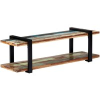 TV Cabinet 130x40x40 cm Solid Reclaimed Wood - YOUTHUP