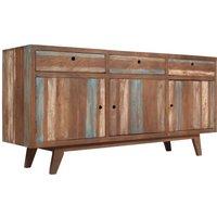 Twyla Solid Wood Vintage Sideboard by Bloomsbury Market - Brown