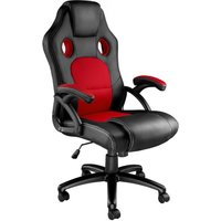 Tyson Office Chair - gaming chair, office chair, chair - black/red