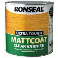 Ultra Tough Internal Clear Mattcoat Varnish 2,5 Litre (RSLUTVM25L)
