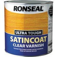 34761 Ultra Tough Internal Clear Satincoat Varnish 2.5 litre - Ronseal