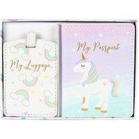 Unicorn Magic - Passport Holder and Luggage Tag - WIDDOP