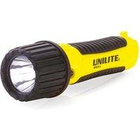 ATEX-FL4 Intrinsically Safe LED Flashlight Torch 150 Lumens Zone 0 - Unilite