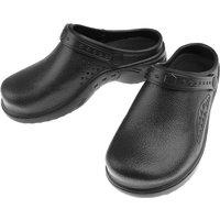 Unisex Garden Clogs Waterproof & Lightweight EVA Shoes Anti-slip Nursing Slippers Women or Men Sandals for Homelife Work,model:Black 44