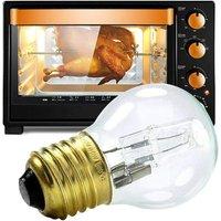 Universal Cooker Oven Lamp Bulb, E27 40W Lamp Bulbs Cookers 200-240 (V) 500 ° C