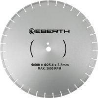 Universal diamond cutting disc blade grinder cutter cutting stone brick tiles (diameter 500 mm, blade thickness 3,8 mm, bore diameter 25,4 mm, RPM