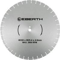 Universal diamond cutting disc blade grinder cutter cutting stone brick tiles (diameter 550 mm, blade thickness 4,0 mm, bore diameter 25,4 mm, RPM
