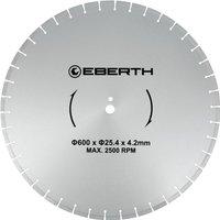 Universal diamond cutting disc blade grinder cutter cutting stone brick tiles (diameter 600 mm, blade thickness 4,2 mm, bore diameter 25,4 mm, RPM