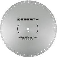 Universal diamond cutting disc blade grinder cutter cutting stone brick tiles (diameter 650 mm, blade thickness 4,2 mm, bore diameter 25,4 mm, RPM
