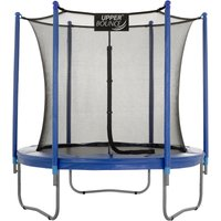 7.5Ft Large Trampoline and Enclosure Set Equipped with Easy Assembly Feature | Garden and Outdoor Trampoline with Safety Enclosure Net | Ultra Durable