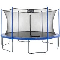 Upper Bounce 16Ft Large Trampoline and Enclosure Set Equipped with Easy Assembly Feature | Garden and Outdoor Trampoline with Safety Enclosure Net |