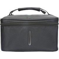UV Light Sanitizer Bag Portable Disinfection Sterilizer Box LED-UVC Cleaner for Underwear/Beauty Tools/Tableware/Baby Bottles,model:Black