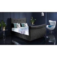 Furniturebox Uk - Valencia Asphalt Malia Double Bed Frame