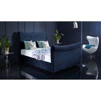 Furniturebox Uk - Valencia Blue Malia Double Bed Frame