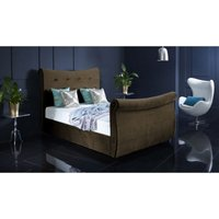 Furniturebox Uk - Valencia Brown Malia Double Bed Frame
