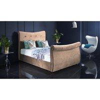 Furniturebox Uk - Valencia Clay Malia Double Bed Frame