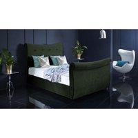 Furniturebox Uk - Valencia Forest Green Malia Double Bed Frame