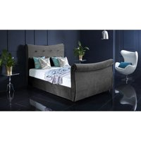 Furniturebox Uk - Valencia Grey Malia Double Bed Frame