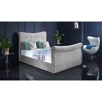 Furniturebox Uk - Valencia Silver Malia Double Bed Frame