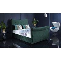 Furniturebox Uk - Valencia Teal Malia Double Bed Frame