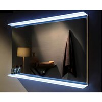 Wholesale Domestic - Venti 1000mm x 700mm Illuminated LED Mirror with Tempered Glass Shelf and Demister