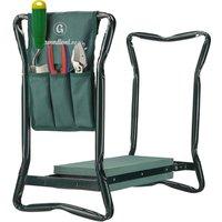 Versatile foldable portable garden kneeler - GROUNDLEVEL