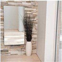 Vetro Frame 1000X500mm Glass Towel Warmer 1621B Mirror - Heating Style