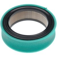 vhbw Filter Set (1x air filter, 1x pre-filter) compatible with Case 210, 220, 222, 224 Lawn Tractor, Ride On Mower
