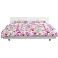 vidaXL 3 Piece Winter Duvet Set Fabric Printed 200x220/80x80 cm - Multicolour