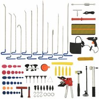 vidaXL 80 Piece Paintless Car Dent Repair Tool Set