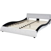 Bed Frame Artificial Leather 4FT6 Double/135x190 cm - VIDAXL