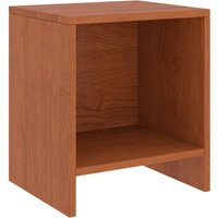 Bedside Cabinet Honey Brown 35x30x40 cm Solid Pinewood - Brown - Vidaxl