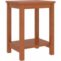 Bedside Cabinet Honey Brown 35x30x47 cm Solid Pinewood - Brown - Vidaxl
