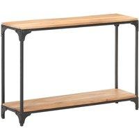 Console Table 110x30x75 cm Solid Acacia Wood - Brown - Vidaxl