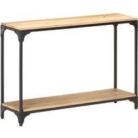 Console Table 110x30x75 cm Solid Mango Wood - Brown - Vidaxl