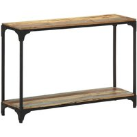 Console Table 110x30x75 cm Solid Reclaimed Wood - Brown - Vidaxl