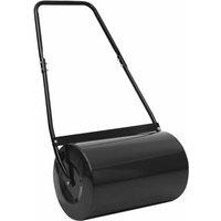 Lawn Roller Black 63 cm 50 L - Vidaxl
