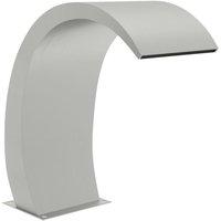 Pool Fountain 30x60x70 cm Stainless Steel 304 - Silver - Vidaxl