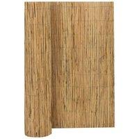 Willow Fence 3x1.7 m - Brown - Vidaxl
