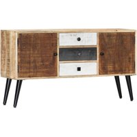 Vince Solid Mango Wood Sideboard by Williston Forge - Brown
