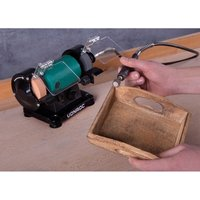 Bench Grinder with flexible shaft / Multi Tool 150W - 75mm - Vonroc