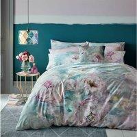 Voyage Maison Roseum King Size Duvet Cover Set 100% Cotton 220TC Floral Bedding