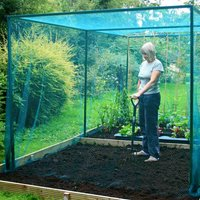Walk In Fruit Cage with 7mm Butterfly Net (no door) - 4m x 4m x 2m high