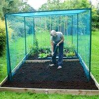 Gardenskill - Walk In Fruit Cage (With Door) - 4m x 2m x 2m high