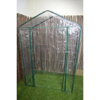 Walk in Garden Greenhouse Green House with 4 Shelves