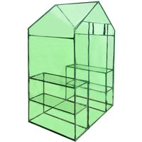 Walk-in Greenhouse with 4 Shelves