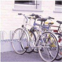 VFM - Wall/Floor Mounted Cycle Rack 4-Bike Alu - SBY10011