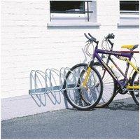 VFM - Wall/Floor Mounted Cycle Rack 4-Bike Alu - SBY10012