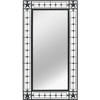 Vidaxl - Wall Mirror Rectangular 60x110 cm Black